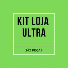 KIT LOJA ULTRA - 242 PEÇAS