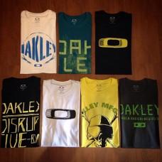 5 Camisetas Oakley Especiais  Atacado - 5 Peças Revenda