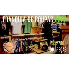 Franquia de Roupas Surf - Bronze - 100 Peças R$ 2780,00