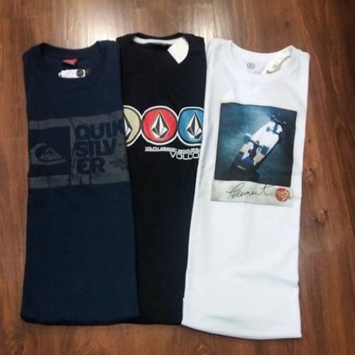 5263c78f9d3b4 Camisetas Surf Especiais 10 Peças Atacado + 1 Bermuda Jeans de Brinde